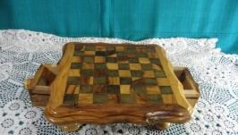 Шахматный миниатюрный столик