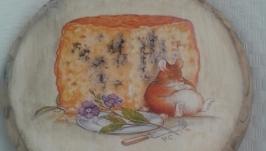Сырная дощечка ′Мышки′