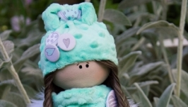 Текстильная интерьерная кукла Ангел