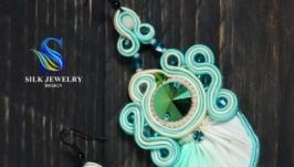 Сережки ручної роботи ′Summer′