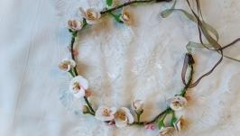 Ожерелье-венок «Весенняя песня»
