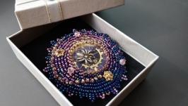 Брошь ′Созвездие Большого Паукана′