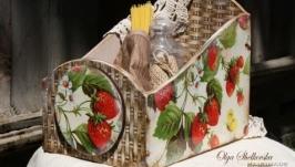 Клубнчный короб на кухню