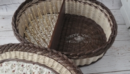 Шкатулка для рукоделия ′Бабушкино платье′