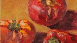 Картина маслом ′Помидоры и перец′