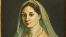 Копія картини Рафаеля Санті′Сеньйора під покривалом′