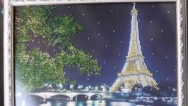 Картина вышитая бисером