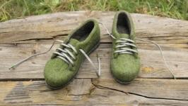 Валяные туфли Осенняя радость