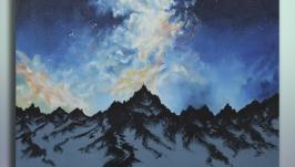 Картина «Северное сияние» - «Північне сяйво» - ′Northern Lights′  50*50
