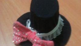Мини- шляпки, аксессуары для головы.