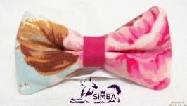 Галстук-бабочка для собаки или владельца Vintage Blue Pets Couturier SIMBA