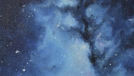 Картина «Сияющее небо» - «Сяюче небо» -«Shining sky»  20*30