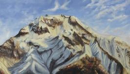 Картина «Взгляд на горы»-«Погляд на гори»-«Mountains view» 40*50