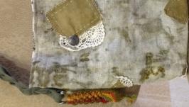 Эко-торба с растительным принтом ′Капли лета′