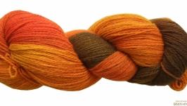 Австралійська шерсть(100%) ручного фарбування