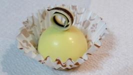 Кавовий трюфель в білому шоколаді