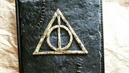 Блокнот с символом Гарри Поттера - ′Дары смерти′