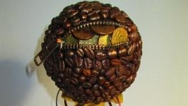 Кофейный топиарий ′Достаток′ денежное дерево