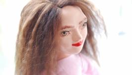Авторская коллекционная интерьерная кукла Кончита