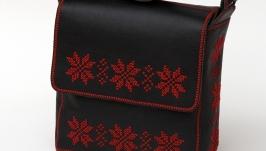 Жіноча шкіряна сумка ′Гармонія Всесвіту′
