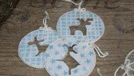 Комплект новогодних игрушек ′Funny Deer′