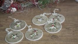 Комплект новогодних игрушек  ′Merry Xmas′