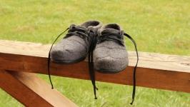 Мужские валяные туфли Скромный король