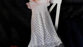 Платье детское нарядное для крестин