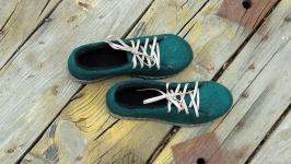 Валяные туфли Изумрудная королева