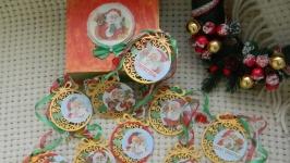Новогодняя гирлянда ′Санта′