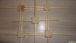 Мобиль. Крестовина для мобиля деревянная квадратная