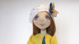 текстильная кукла из трикотажа