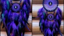 Ловец снов в фиолетовых тонах.