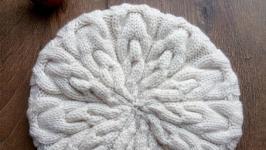 Зимовий комплект шапка і снуд