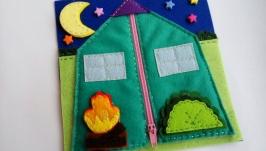 страничка для развивающей книжки ′палатка′
