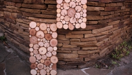 Панно із дерев′яних спилів (комплект)