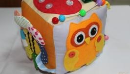 Развивающий кубик для ребенка