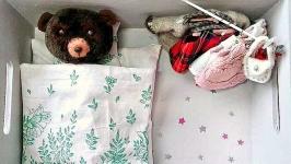 Ляльковий будинок для Ведмежатка. Кукольный домик для Медвежонка