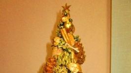 Новогодняя, рождественская елочка, эко- елка