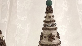 Интерьерная елка-топиарий