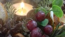 Підсвічник ′Зимово-ягідний′