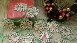 Новогодняя гирлянда ′Снежинки′