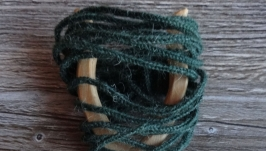 Шнур, плетёный на вилке