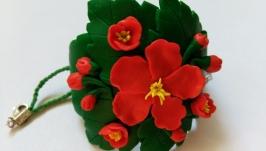 Браслет ′Цветы шиповника′