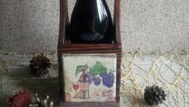 Короб для вина ′Вино і виноград′