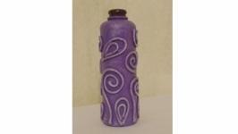 Декоративная бутылка ′Сиреневое кпеление′
