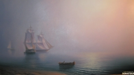 Картина ′Утро на море′