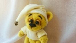 Медвежонок из шерсти