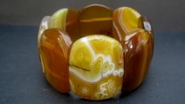 Браслет из натурального камня′Крымский агат′
