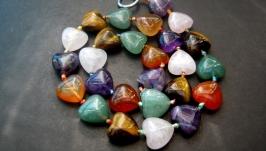 Бусы из натуральных камней′Самоцветы′